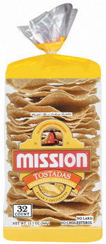Mission Nortenas Amarillas 32 Ct Tostadas 12.7 Oz Bag
