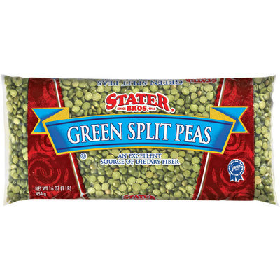 Stater Bros. Green Split Peas 16 Oz Bag