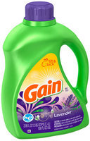 Gain with FreshLock HE Lavender Liquid Detergent 100 fl. oz.