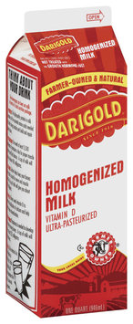 Darigold Homogenized Vitamin D Milk 1 Qt Carton