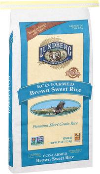 Lundberg® Eco-Farmed Brown Sweet Rice 25 lb. Bag
