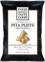 Food Should Taste Good Multigrain Pita Puffs
