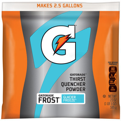 Gatorade Frost® G® Series Perform Glacier Freeze® Sports Drink Powder 21 oz. Pouch