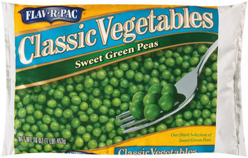 Flav-R-Pac® Classic Vegetables Sweet Green Peas 16 oz. Bag