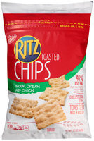 Nabisco Ritz Sour Cream & Onion Toasted Chips 23 oz. Bag