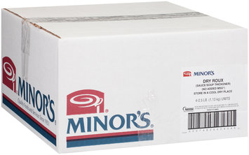 Minor's Dry Roux 4-2.5 lb. Bags
