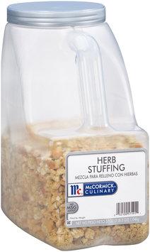 McCormick® Culinary™ Herb Stuffing 37 oz. Jug