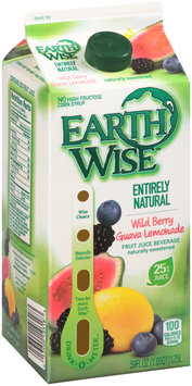 Earth Wise™ Entirely Natural Wild Berry Guava Lemonade Juice Beverage 59 fl. oz. Carton