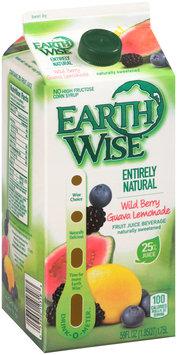 Earth Wise™ Entirely Natural Wild Berry Guava Lemonade Juice Beverage 59 fl. oz. Carton