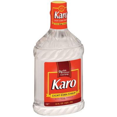 Karo Light W/Real Vanilla Corn Syrup 32 Fl Oz Plastic Bottle