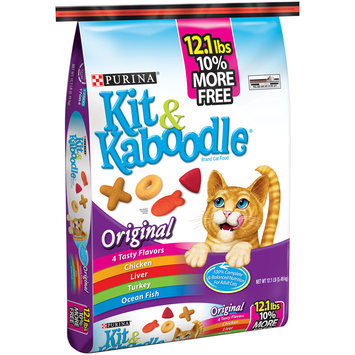 Purina Kit & Kaboodle Original Cat Food 12.1 lb. Bag