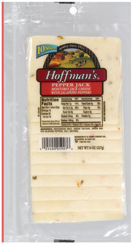 Hoffman's Pepper Jack  Cheese Slices 10 Ct Peg