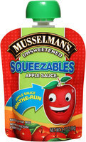 Musselman's® Squeezables Unsweetened Apple Sauce 3.17 oz. Pouch