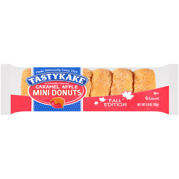 TastyKake® Fall Edition Caramel Apple Mini Donuts