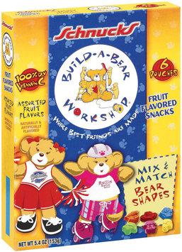 Schnucks Build-A-Bear Workshop Assorted Flavors Fruit Snacks 5.4 Oz Box