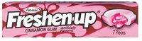 Fuzzy Cinnamon 7 Pieces Gum   Wrapper