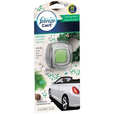 Car Febreze CAR Vent Clips Jolly Pine Air Freshener  (1 Count, 0.06 Oz)