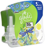 Glade® PlugIns® Hello Spring™ Scented Oil Refills 3 ct Pack