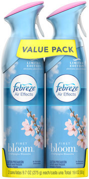 Air Effects Febreze Air Effects First Bloom Air Freshener (2 Count, 19.4 oz)