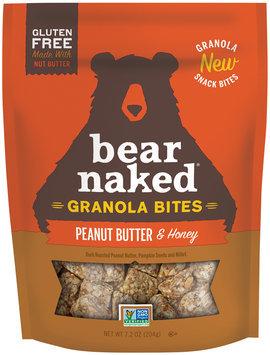 Bear Naked® Peanut Butter & Honey Granola Bites 7.2 oz. Bag