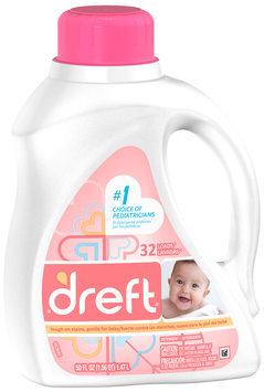 Dreft® Baby Liquid Laundry Detergent 50 fl. oz. Plastic Jug
