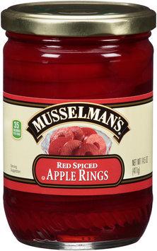Musselman's® Red Spiced Apple Rings 14.5 oz. Jar