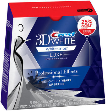Whitestrips Profesnl Whtng Sys Crest 3D White Luxe Whitestrips Professional Effects - Teeth Whitening Kit 25 Treatments