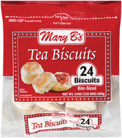 Mary B's Bite-Sized Tea Biscuits 24 Ct Stand Up Bag