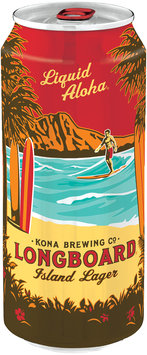 Kona Brewing Co. Hang 10 Longboard Island Lager