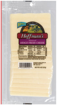 Hoffman's Natural Asiago  Cheese Slices 10 Ct Peg