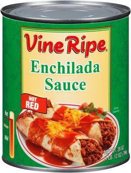 Vine Ripe® Hot Red Enchilada Sauce 28 oz. Can