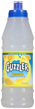 Guzzler® Lemonade Fruit Drink 20 fl. oz. Bottle