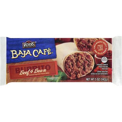Baja Cafe® Beef & Bean Burrito