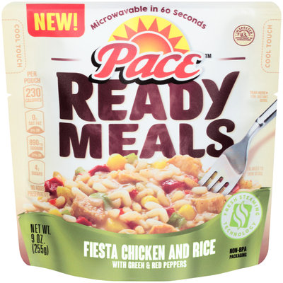 Pace™ Ready Meals Fiesta Chicken and Rice 9 oz. Pouch