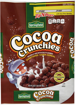 Springfield® Cocoa Crunchies Sweetened Corn Cereal 28 oz. Bag