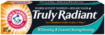 ARM & HAMMER™ Truly Radiant™ Whitening & Enamel Strengthening Fresh Mint