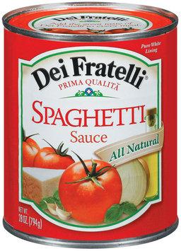 Dei Fratelli  Spaghetti Sauce 28 Oz Can