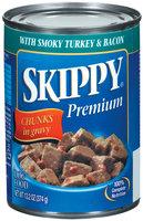 Skippy® Dog Food with Smoky Turkey & Bacon Chunks in Gravy