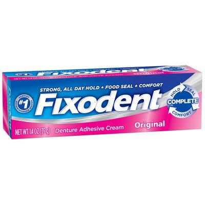 Fixodent Complete Original Denture Adhesive Cream