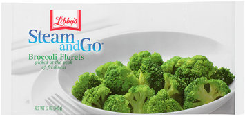 Libby's® Steam & Go® Broccoli Florets 12 oz.
