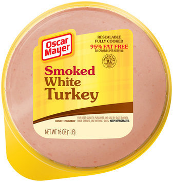 Oscar Mayer Smoked White Turkey, 95% Fat Free, 16 oz. Pack