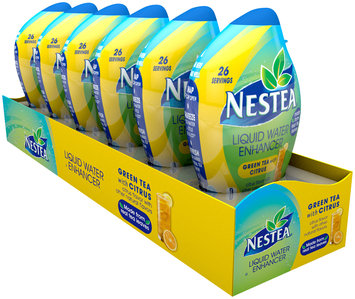 Nestea® Green Tea with Citrus Liquid Water Enhancer 6 ct Bottles
