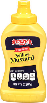 Stater Bros.® Traditional Yellow Mustard 8 oz. Squeeze Bottle