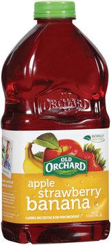 OLD ORCHARD Apple Strawberry Banana Bottled Juice Cocktail