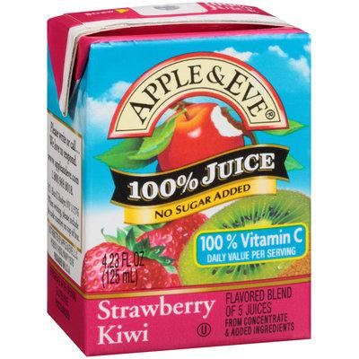 Apple & Eve® Strawberry Kiwi 100% Juice 4.23 fl. oz. Aseptic Carton