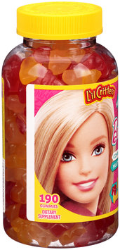 L'il Critters™ Barbie™ Complete Multivitamin Dietary Supplement Gummies 190 ct Bottle