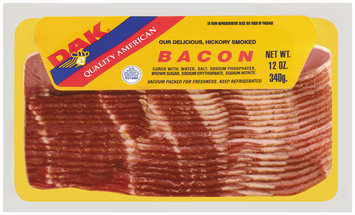 Dak Hickory Smoked Bacon 12 Oz