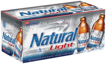 Natural Light 12 Oz Carolinas & Fatty Natty Beer 18 Pk Glass Bottles