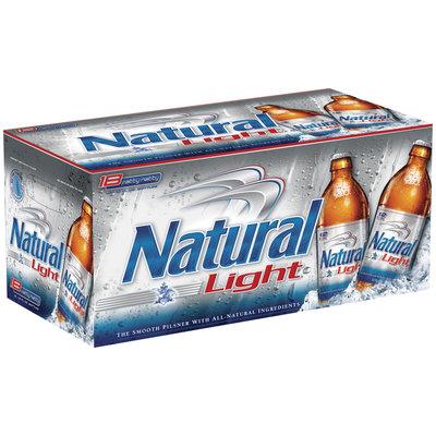 Natural Light 12 Oz Carolinas & Fatty Natty Beer 18 Pk Glass Bottles