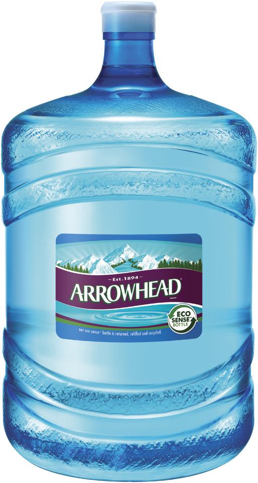 Arrowhead Distilled Water 5 gal. Plastic Jug